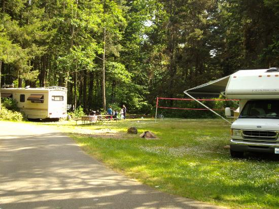 American Heritage Campground: large double campsite