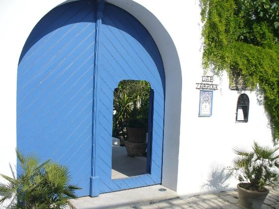 Restaurant Dar Zarrouk : L'ingresso del ristorante