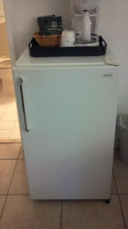 Travelodge Monaco N Miami and Sunny Isles Beach: Refrigerator