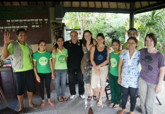 Bali Eco Resort and Adventure: Superfriendly staff