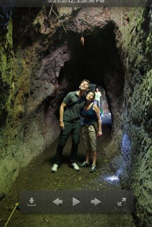 Bali Eco Resort and Adventure: The underground labyrinth with temple