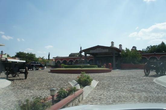 Hacienda Tres Vidas Hotel & Spa: Entrada del hotel