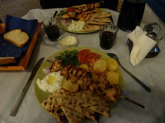 Estia Traditional Grill House: Chicken Souvlaki