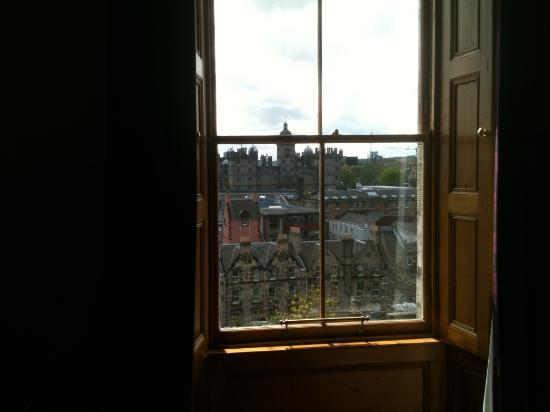 Apartment By Castle: View of Old Town from Bedroom Window