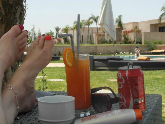 Sirayane Boutique Hotel & Spa : supers cocktails sans alcool