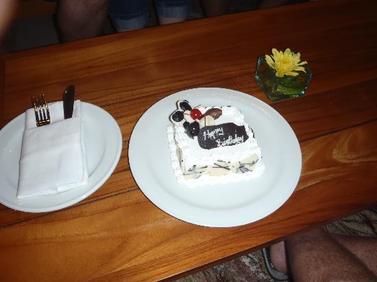 My birthday flowers - Picture of Sun Island Hotel Kuta, Kuta ...