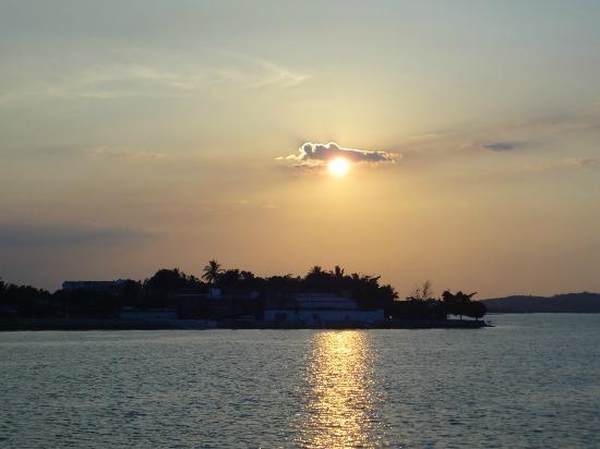 Hotel Casazul: sunset at Flores