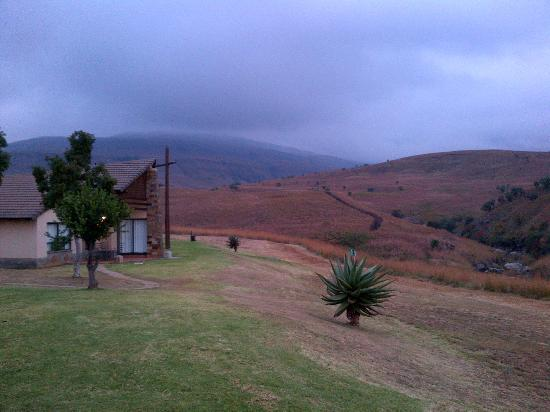 Alpine Heath Resort : View from our chalet the morning of our departure