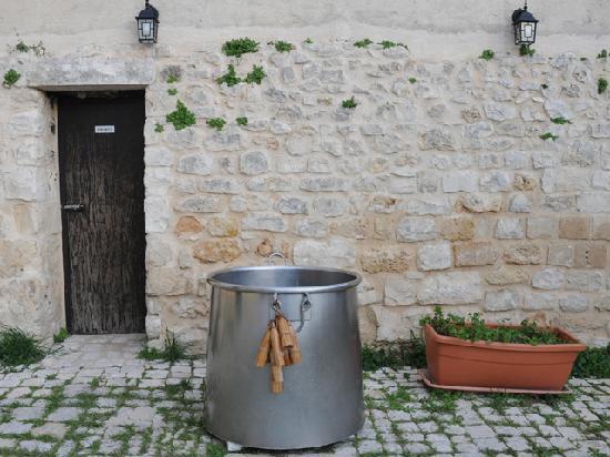 Villa Ruben: L'angolo della ricotta fatta fresca sul posto