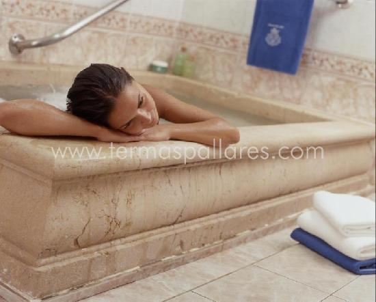 Alhama de Aragon, Spain: Baño Termal Balneario Termas Pallarés