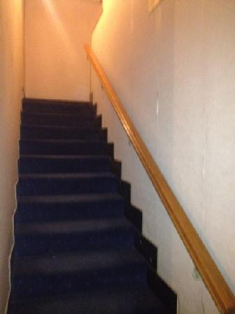 Guiren : stairway to 2nd floor