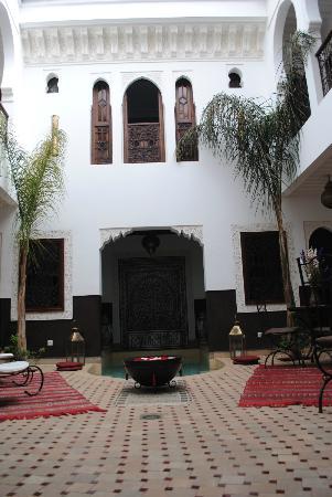 Riad Charme d'Orient: Vue de l'étage