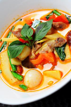 Modern Thai: Red Curry Duck with Lychee