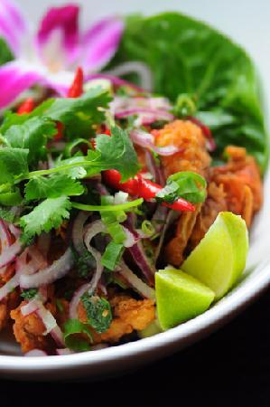 Modern Thai: Soft-shell Crab Salad