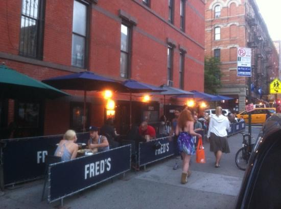 Fred's, Amsterdam Avenue, NYC