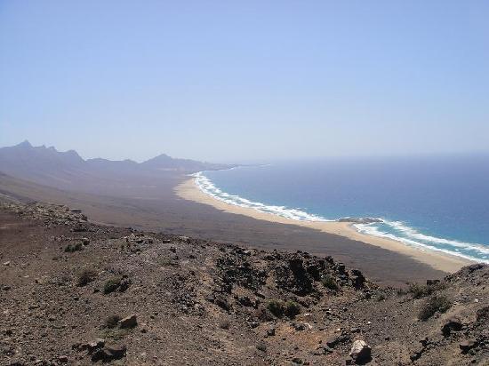 Playa de Cofete: Menudas vistas