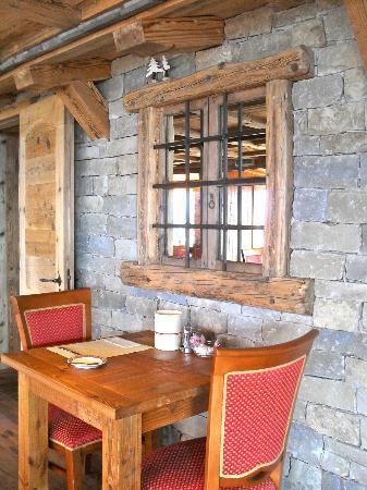Hotel Le Grand Chalet: A l'intérieur comme à l'extérieur!