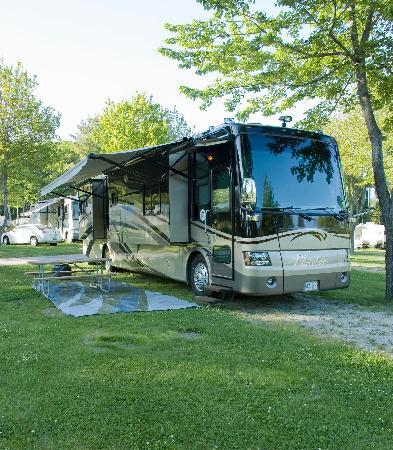 Powder Horn Family Camping Resort: Our Campsites.
