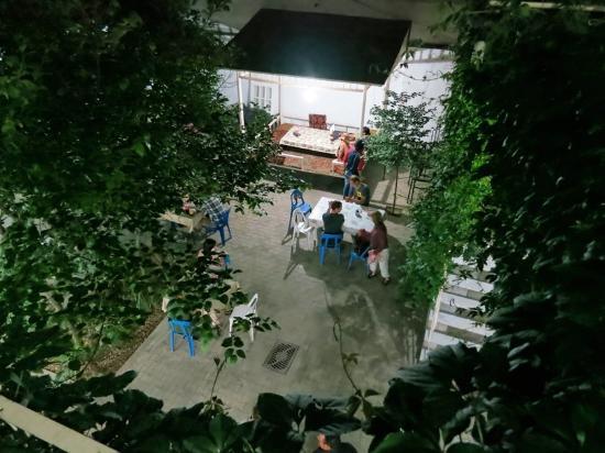 Gulnara Guesthouse: Patio
