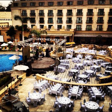 Concorde El Salam Hotel: Pool view