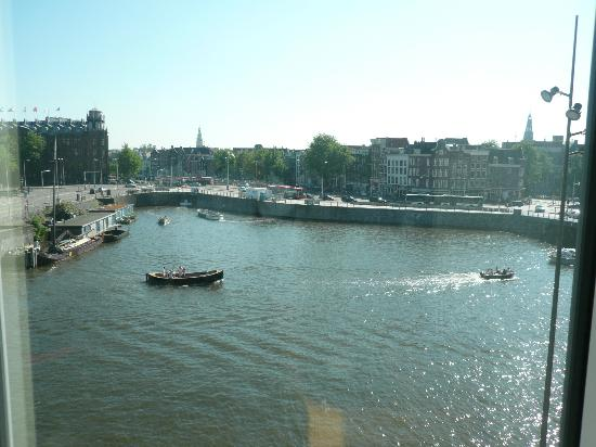 DoubleTree by Hilton Hotel Amsterdam Centraal Station: View from room at Doubletree Amsterdam