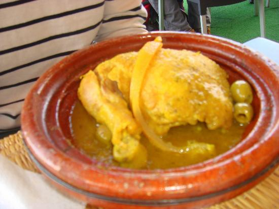 Riad Dubai: Chicken tagine