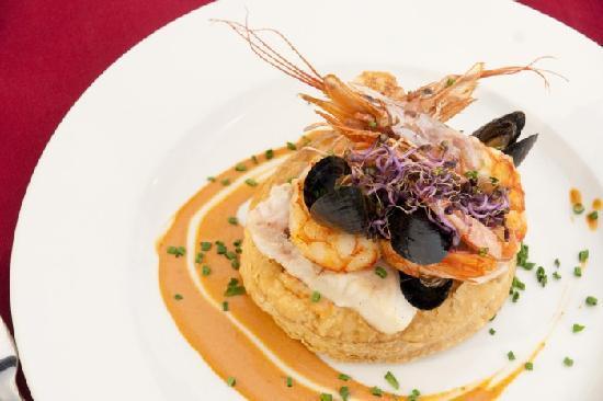 Restaurante Toque: Hojaldre de pescado