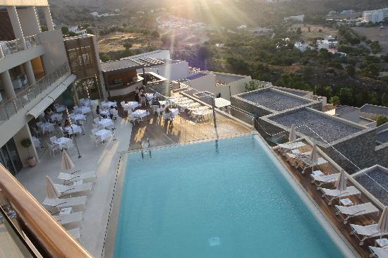 Lindos Blu: The pool