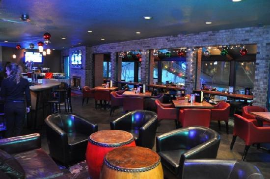Autoport: The lounge is perfect for spending the evening with friends.