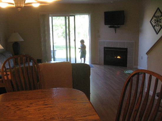 Tamarack & Mirror Lake, a Festiva Resort: living area in room