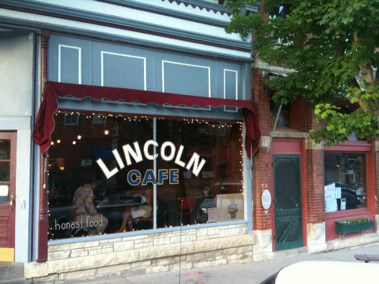 Mount Vernon (IA) United States  City pictures : Lincoln Front Picture of Lincoln Cafe, Mount Vernon TripAdvisor