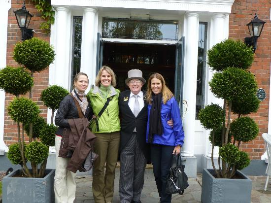 Hayfield Manor Hotel: With Bart- the most excellent concierge