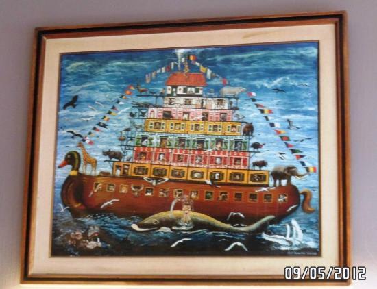 Chez Jacques: Painting at Restaurant Jacques