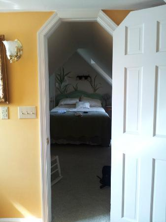 1848 Island Manor House: View from en suite bathroom into bedroom