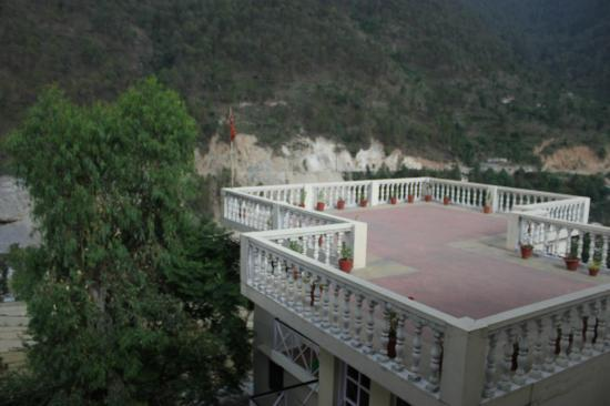 Monal Tourist Home: The view from the balcony