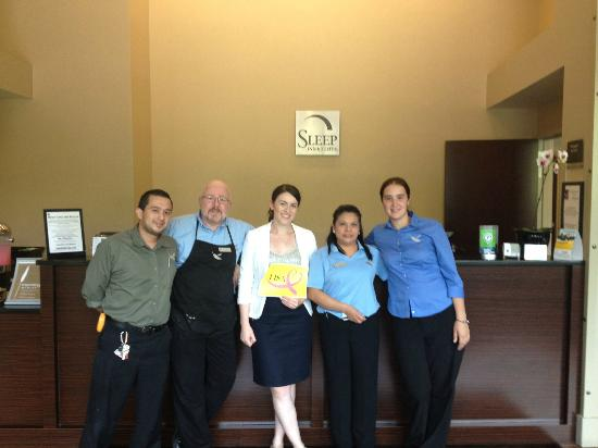 Sleep Inn & Suites Downtown Inner Harbor : Fantastic Staff!