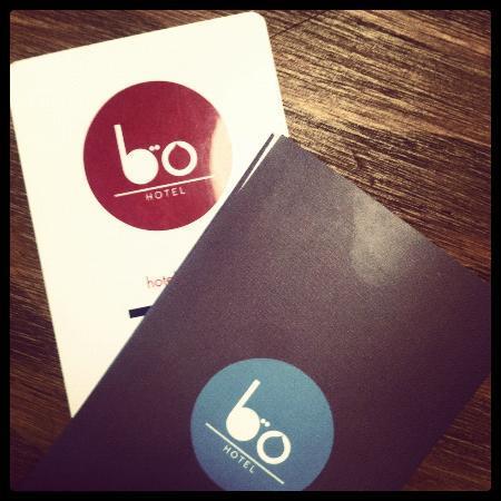 Hotel Bo: la llave para nuestra habitacion