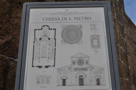 Church of San Pietro: ...der Plan....