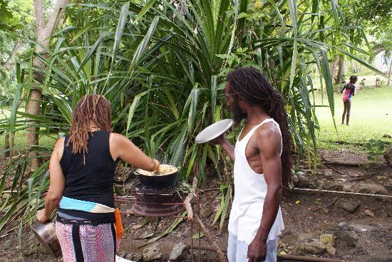 Abeokuta Paradise Nature Park : Food Cooking