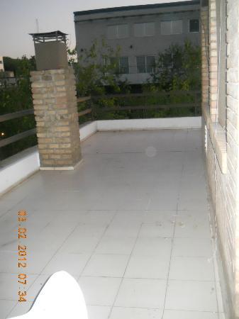 Home Suites Apart: Se nota que me gustó la terraza?