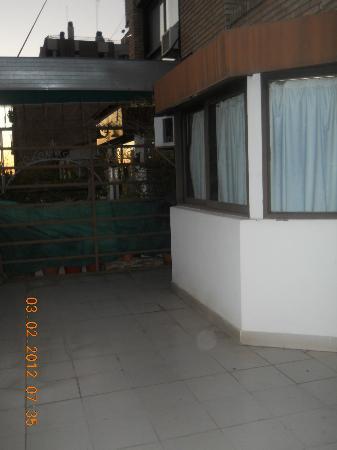 Home Suites Apart: La terraza........enorme!!!!!!!!!!!!