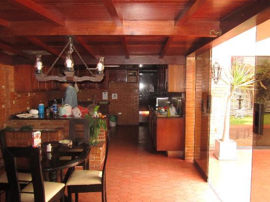 HQ Villa Hostel: cocina