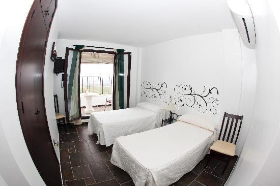 Restaurante el Castillo hotel: dormitorio doble