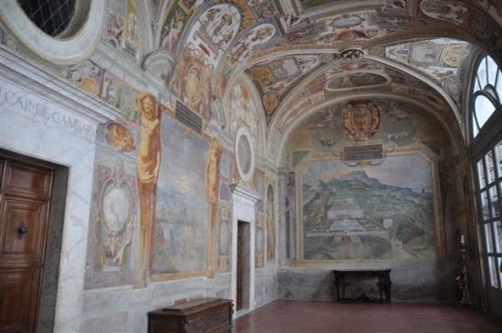 Bagnaia, İtalya: ...Villa Lante.....