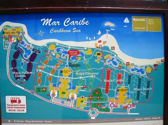 La Plage Picture Of Barcelo Maya Tropical Puerto