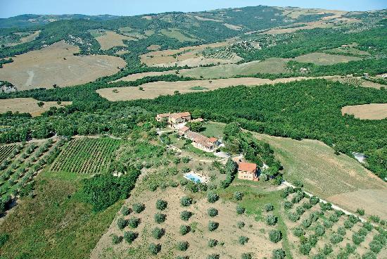 Castiglione D'Orcia, Italy: Ripresa dall'alto