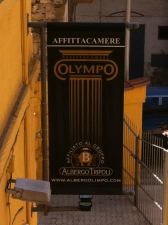 Olympo Affittacamere: ingresso