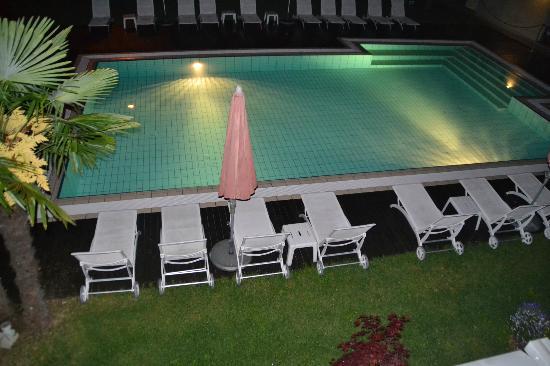 Park Hotel Il Vigneto: piscina notte