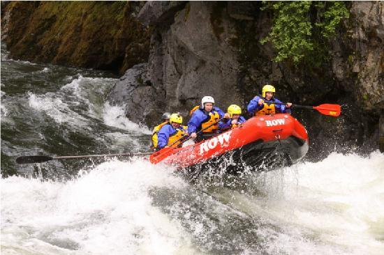 Lochsa River Rafting - ROW