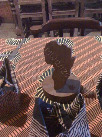 New Acropol Hotel: table decor in the dining room